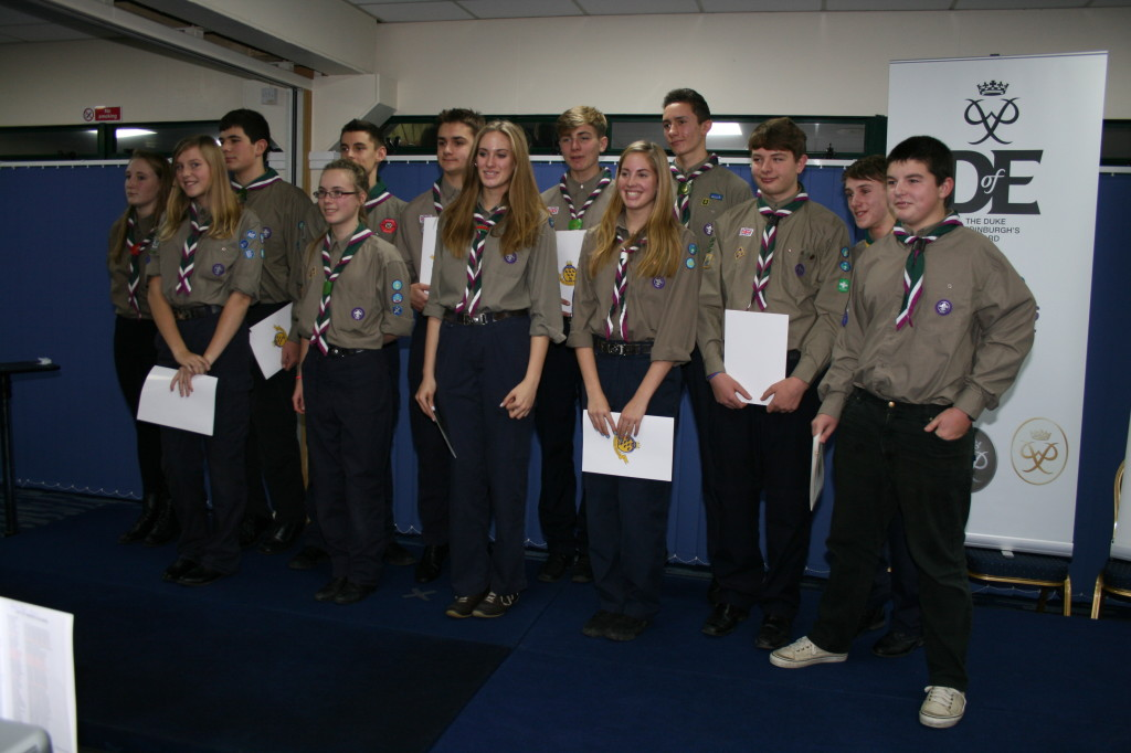 WS Scouts DofE Awards 1st